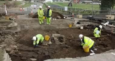 اكتشاف مستوطنة رومانية تعود لعام 60 قبل الميلاد بإنجلترا