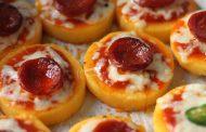 الميني بيتزا ...طريقة سهلة لتحضيرها