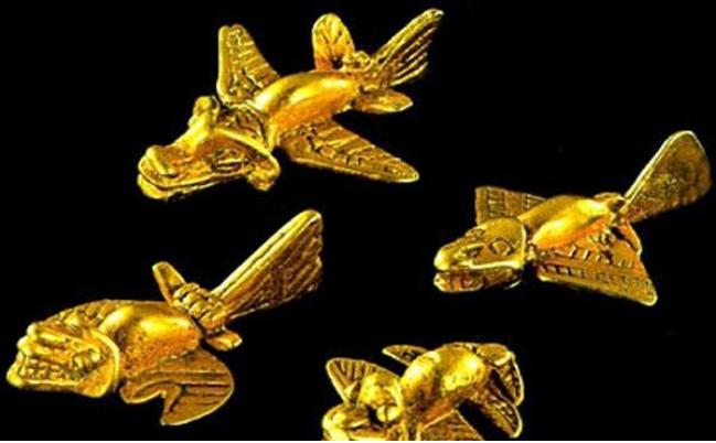 لغز طائرات المايا الذهبية الذي لم يفهمه العلماء حتى الآن !