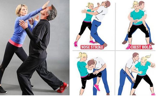 حركات بسيطة للدفاع عن النفس .. يجب على كل امرأة أن تتعلمها