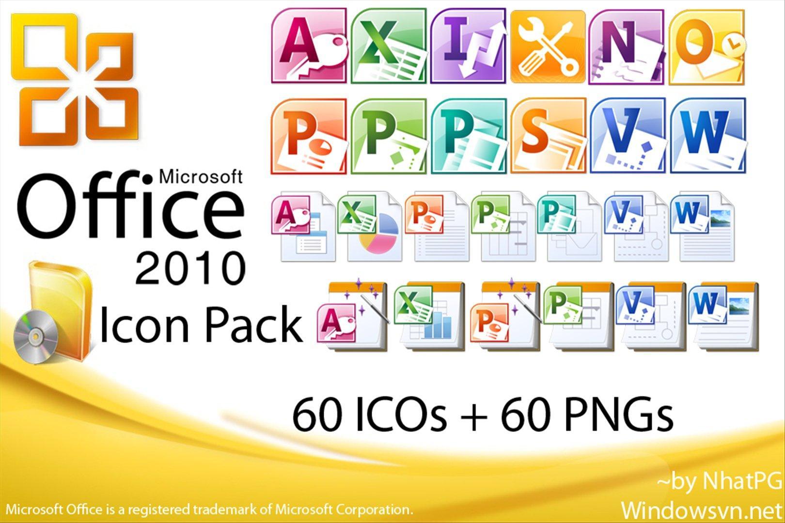 تحميل مجاني لبرنامج  Microsoft Office Professional 2010 عربي وإنجليزي، شامل وورد وإكسل وباور بوينت