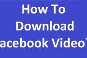 كيفية تحميل فيديو من الفيس بوك إلى الهاتف مجاناً