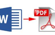 طريقة التحويل من Word إلى PDF بكل اللغات في ثواني مجاناً