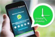 تعرف على طريقة جدولة الرسائل على واتساب لإرسالها في الوقت الذي تحدده