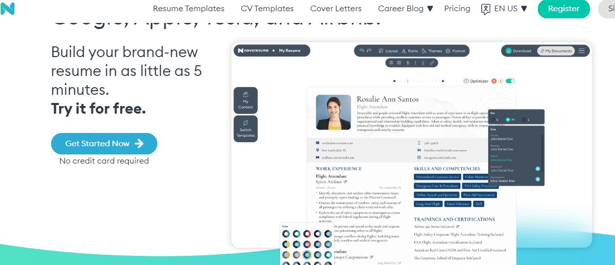أفضل موقع مجاني لعمل سيرة ذاتية CV إحترافية مجاناً 2022